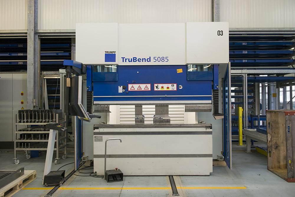 Presse plieuse tolerie CNC trubend 5085